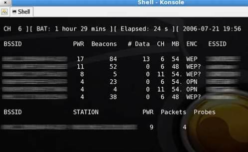 Linux Backtrack 4